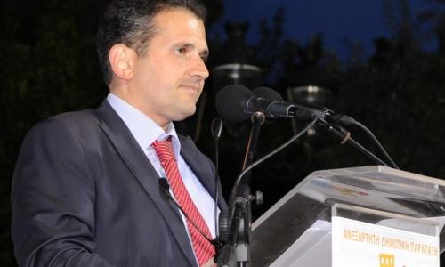 Δήμαρχος Καλλιθέας: Παραχωρεί το 50% του μισθού του στον ειδικό λογαριασμό για τον κορωνοϊό