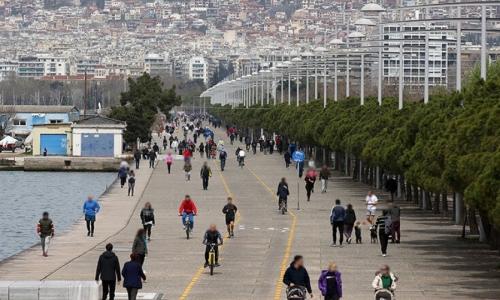 Η πρώτη απαγόρευση κυκλοφορίας στην Ελλάδα λόγω κορωνοϊού