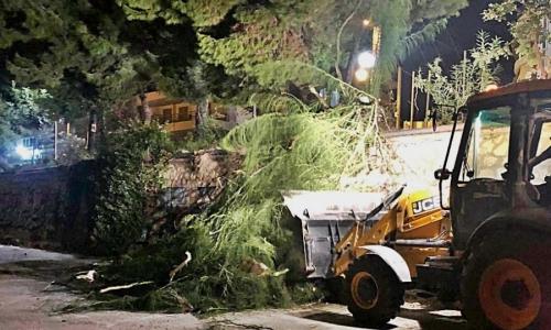 Έκτακτα μέτρα πρόληψης στην Καλλιθέα για τον μεσογειακό κυκλώνα